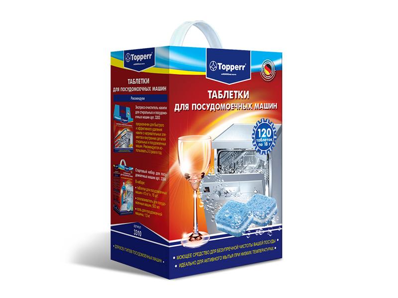 Таблетки для посудомоечных машин Topperr 3310