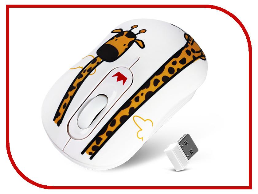 Мышь Crown CMM-928W Giraffe мышь crown cmm 11w black silver