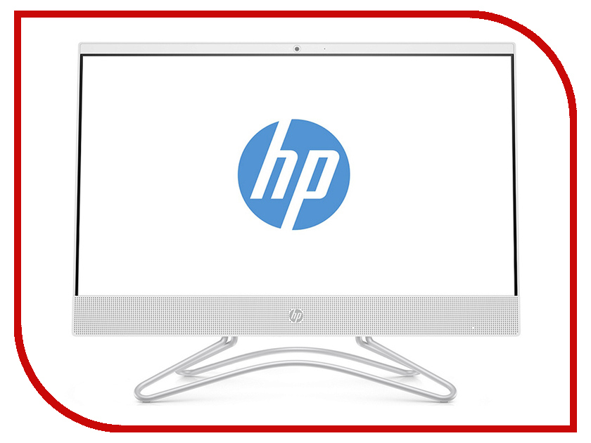 Моноблок HP 22-c0031ur Snow White 4GS83EA (Intel Core i5-8250U 1.6 GHz/8192Mb/1000Gb/DVD-RW/nVidia GeForce MX110 2048Mb/Wi-Fi/Bluetooth/21.5/1920x1080/DOS) моноблок lenovo ideacentre aio 520 24iku ms silver f0d2003urk intel core i5 7200u 2 5 ghz 8192mb 1000gb dvd rw intel hd graphics wi fi bluetooth cam 23 8 1920x1080 dos