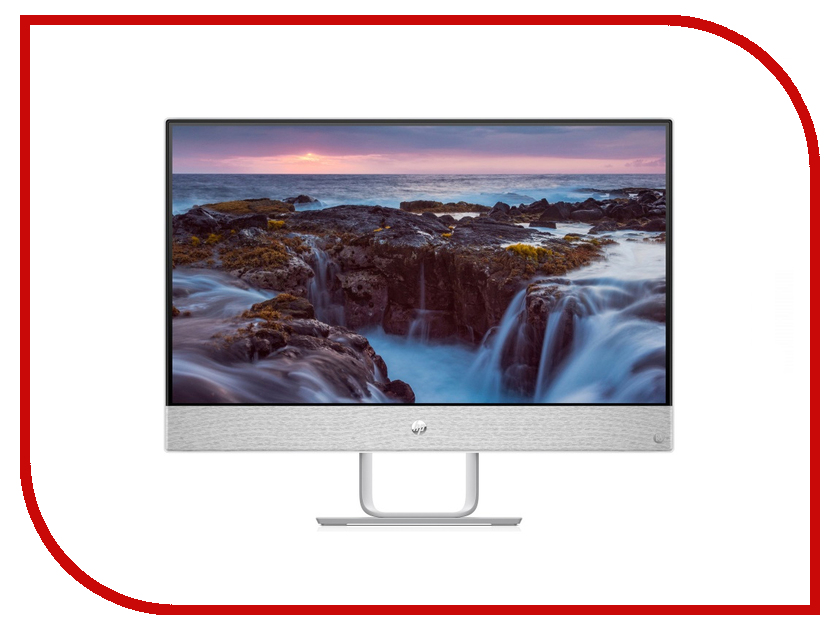 Моноблок HP Pavilion 24-r113ur Blizzard White 4GK83EA (Intel Core i3-8100T 3.1 GHz/4096Mb/1000Gb+16Gb SSD/Intel HD Graphics/Wi-Fi/Bluetooth/23.8/1920x1080/Windows 10 Home 64-bit) моноблок hp pavilion 27 a234ur 27 0 ips led core i3 7100t 3400mhz 4096mb hdd 1000gb intel intel hd graphics 630 64mb ms windows 10 home 64 bit [1ax05ea]
