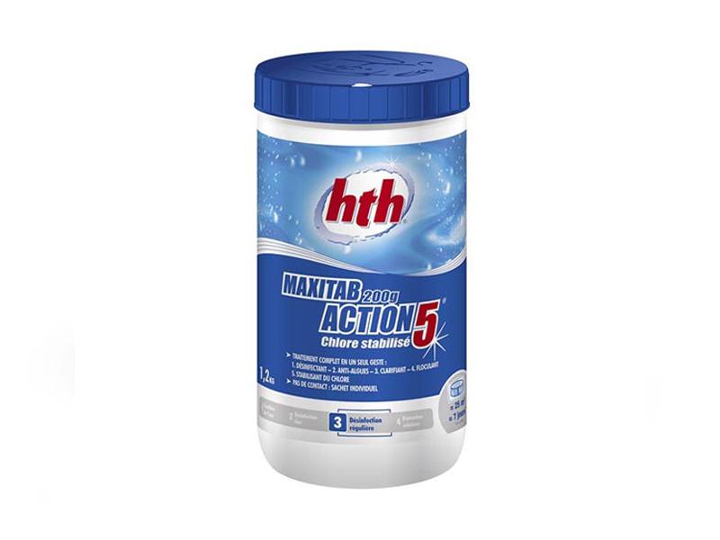 Многофункциональные таблетки HTH Minitab Action 5 1.2kg многофункциональные таблетки hth maxitab action 5 1 2kg c800702h1
