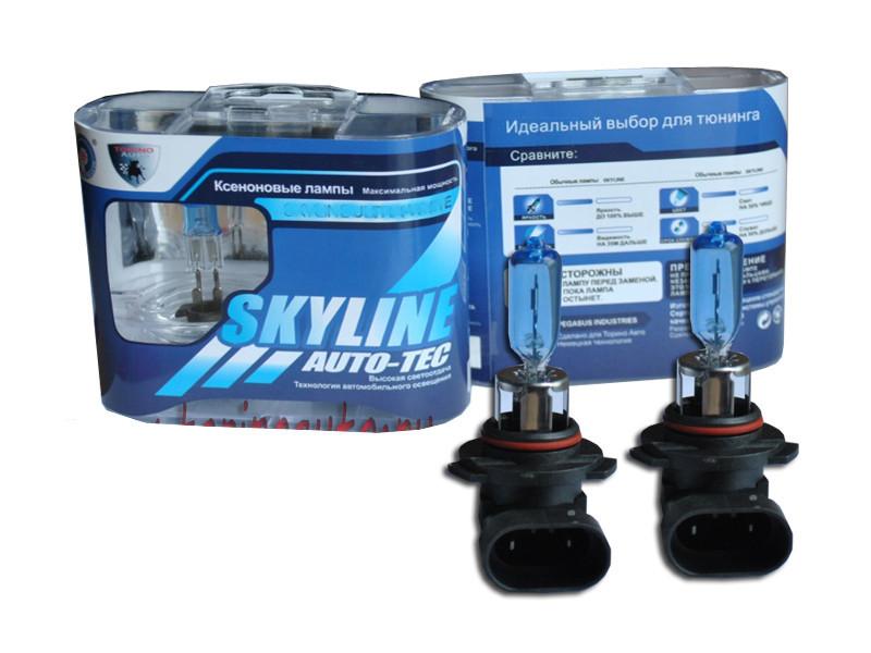 Лампа SkyLine HB3-9005 12V 65W 5500K Precious White (2 штуки) лампа skyline h1 12v 55w 2800k solar yellow 2 штуки