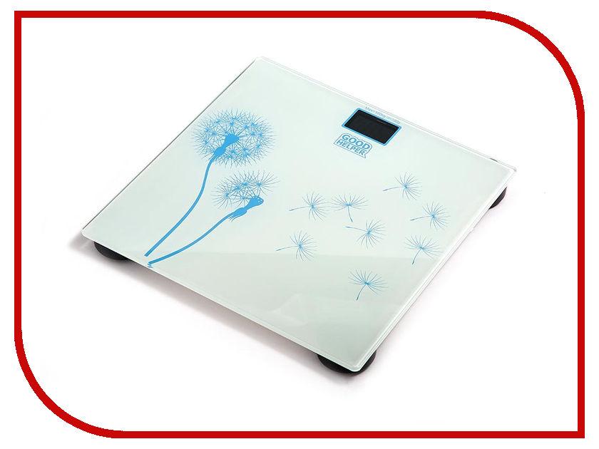 Весы напольные Goodhelper BS-S40 White мультиварка goodhelper мс 5110