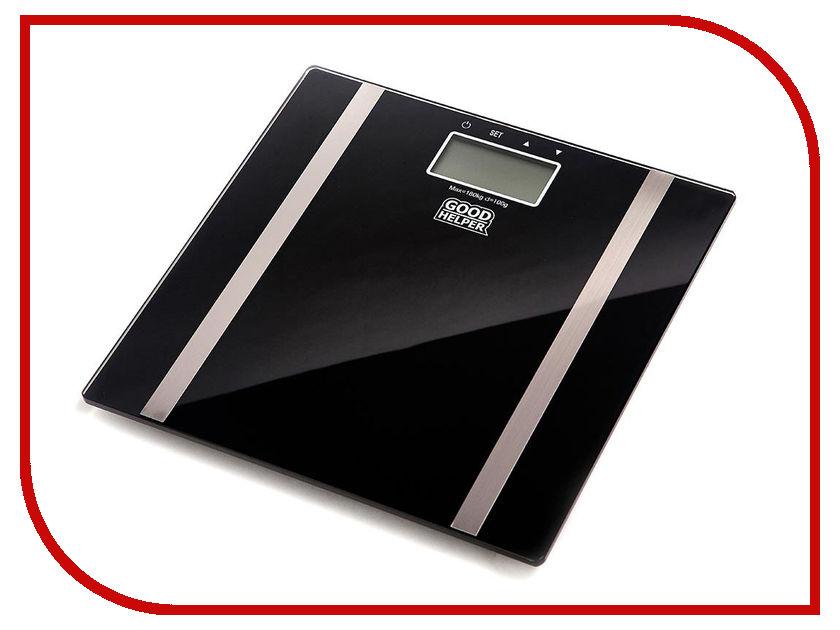 Весы напольные Goodhelper BS-SA56 Black электрогриль goodhelper gg c10