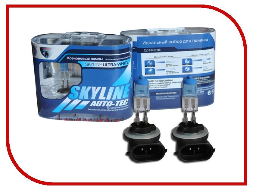 Лампа SkyLine H27-881 12V 27W 3800K Ultra White (2 штуки)