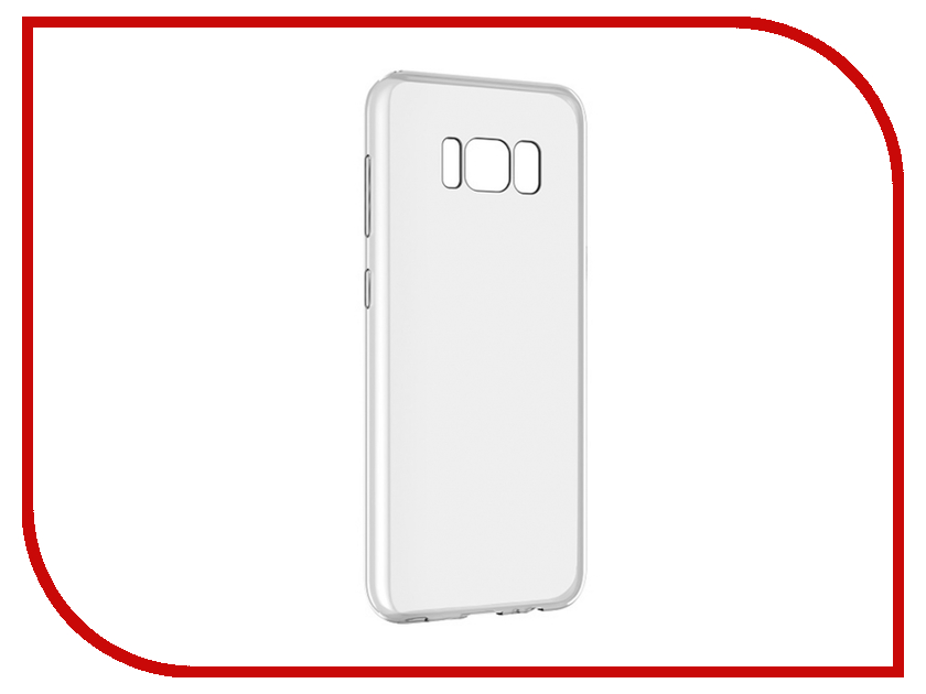 Аксессуар Чехол для Samsung Galaxy S8 Plus Ubik 0.5mm Transparent 003157 аксессуар чехол для samsung galaxy s8 ubik 0 5mm transparent 000671