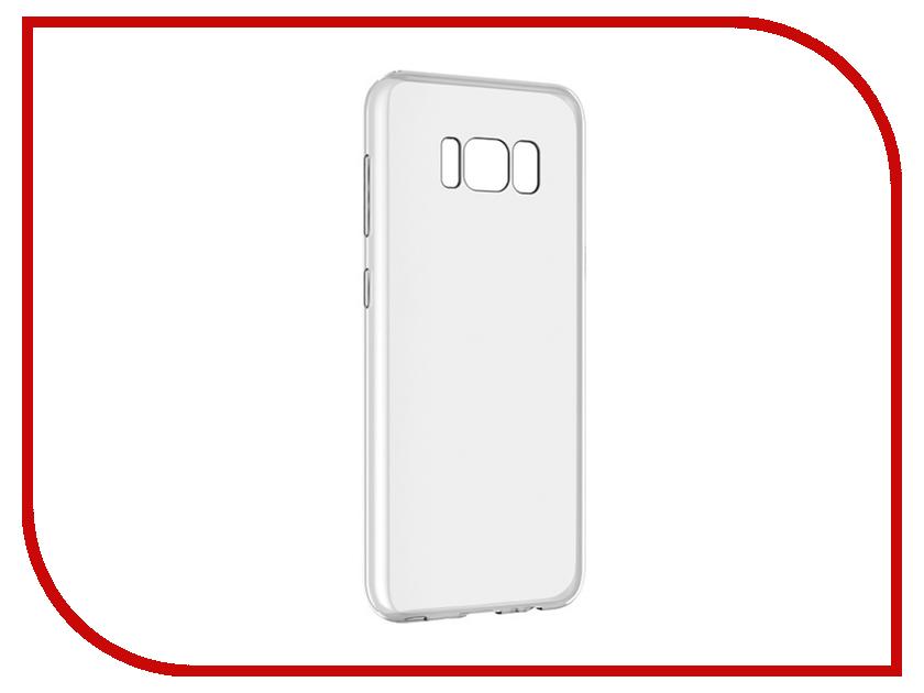 Аксессуар Чехол для Samsung Galaxy S8 Plus Ubik 0.5mm Transparent 003157 аксессуар чехол samsung galaxy s8 celly air case black air690bkcp