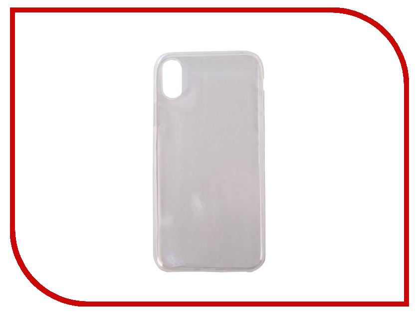 Аксессуар Чехол Ubik TPU 0.5mm для APPLE iPhone X Transparent 003142 anycase tpu чехол для apple iphone x mint