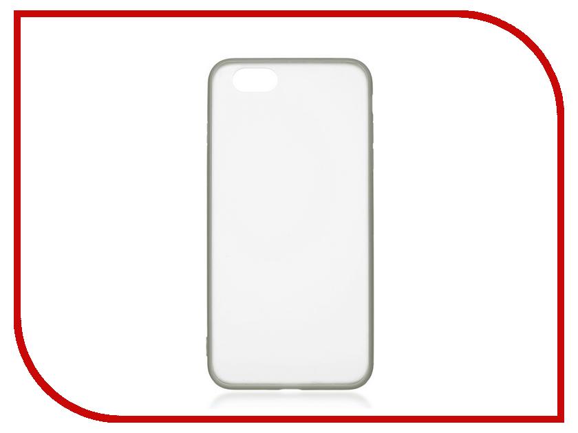 Аксессуар Чехол Ubik TPU 0.5mm для APPLE iPhone 7 Transparent 003169 fashion brand dangerous people pattern matte tpu mobile casing for iphone 7 4 7 melting dsp