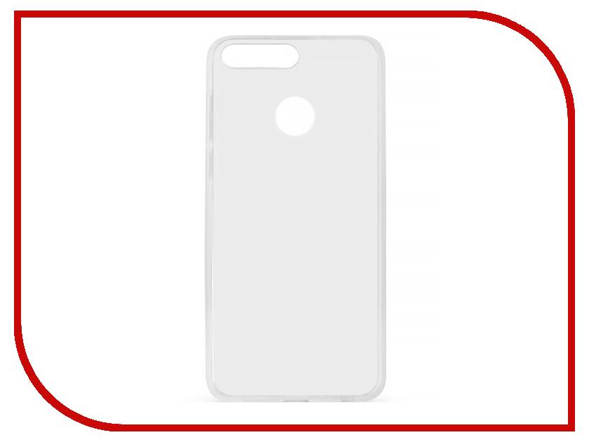 Аксессуар Чехол для Huawei Honor P10 Lite Ubik TPU 0.5mm Transparent 003141