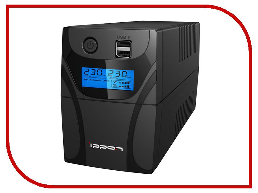 Источник бесперебойного питания Ippon Back Power Pro II 500 источник бесперебойного питания ippon back comfo pro new 600