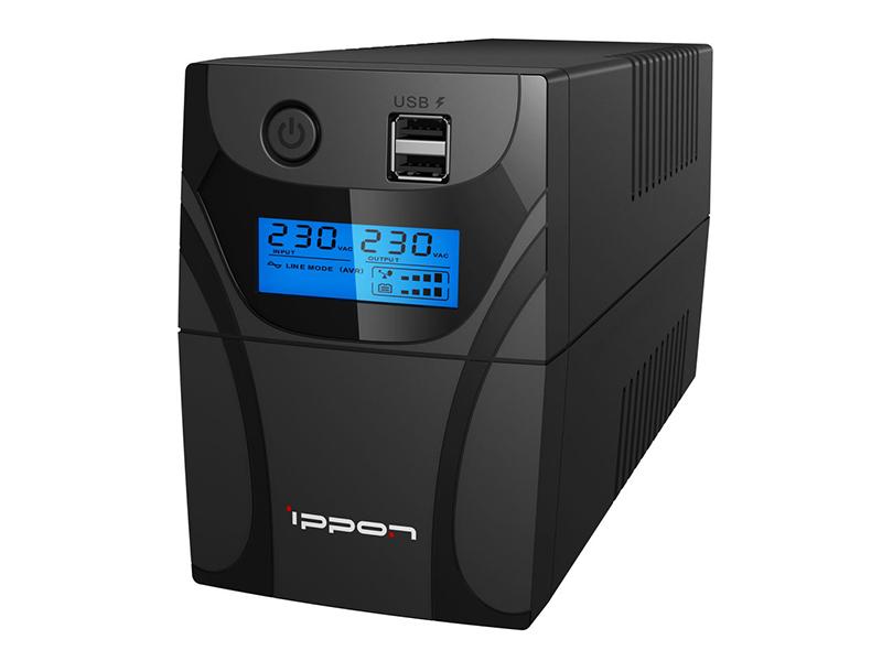 Источник бесперебойного питания Ippon Back Power Pro II 700 источник бесперебойного питания ippon back power pro lcd 400