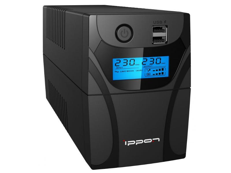 Источник бесперебойного питания Ippon Back Power Pro II Euro 850