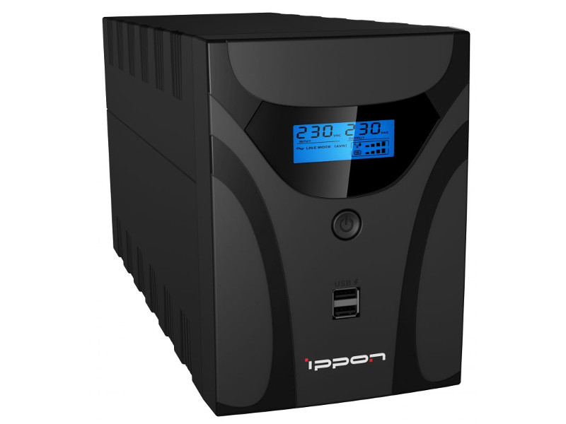 Источник бесперебойного питания Ippon Smart Power Pro II 1600 модем 4g zte mf920 usb wi fi vpn firewall router внешний черный