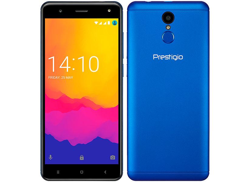 Сотовый телефон Prestigio Muze E7 LTE Blue цена и фото