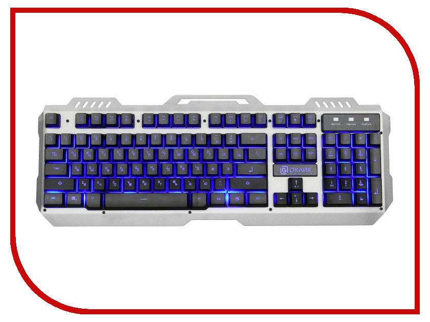 Zakazat.ru: Клавиатура Oklick 790G Iron Force Grey-Black USB
