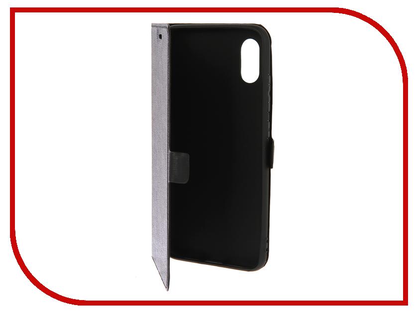Аксессуар Чехол для Xiaomi Mi 8 Explorer DF Black xiFlip-31 аксессуар чехол для xiaomi redmi 4x df xiflip 12