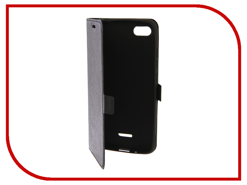 Аксессуар Чехол для Xiaomi Redmi 6A DF Black xiFlip-30 аксессуар чехол для xiaomi redmi note 3 note 3 pro df xiflip 02