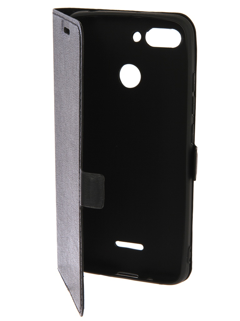 Аксессуар Чехол DF для Xiaomi Redmi 6 Black xiFlip-29 чехол с флипом для xiaomi redmi 6 pro df xiflip 32