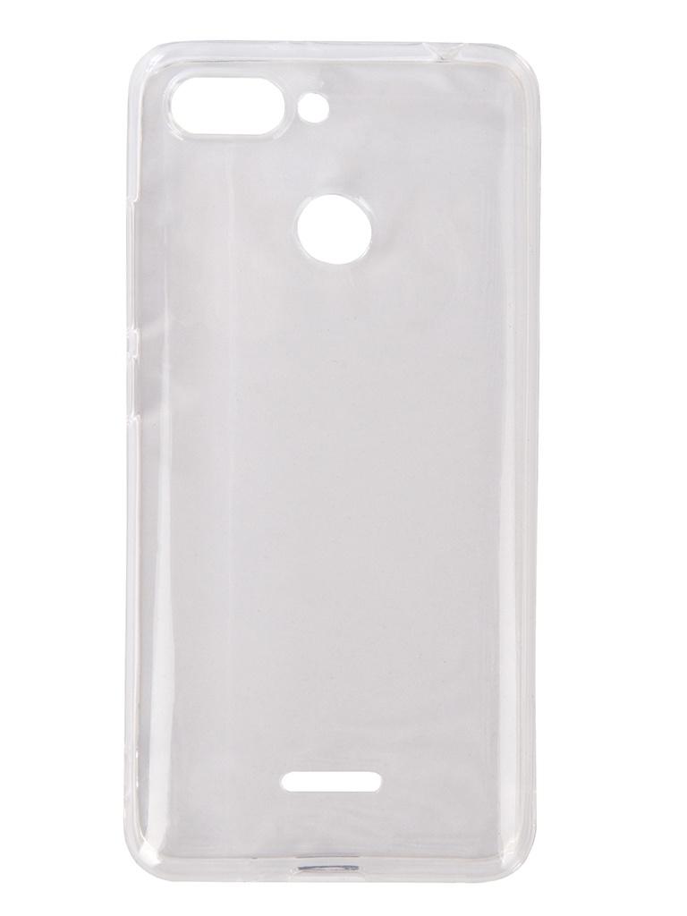 Аксессуар Чехол DF для Xiaomi Redmi 6 Silicone Super Slim Transparent xiCase-32