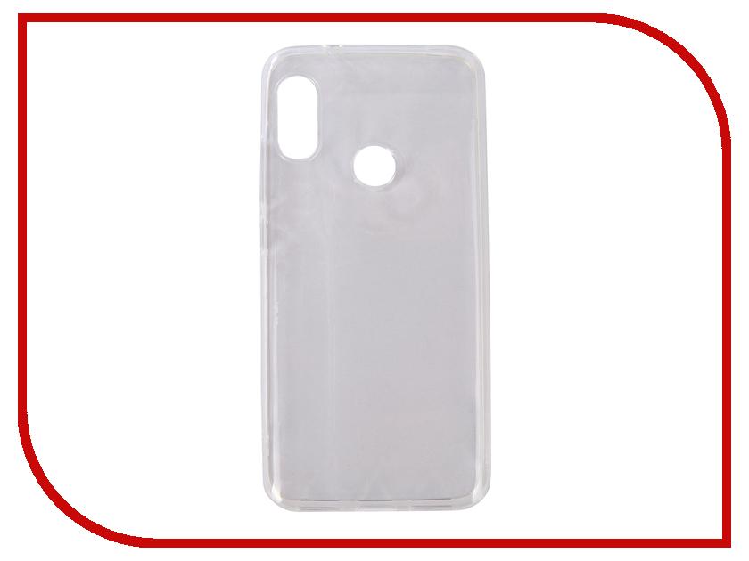 Аксессуар Чехол для Xiaomi Redmi 6 Pro DF Silicone Super Slim Transparent xiCase-35