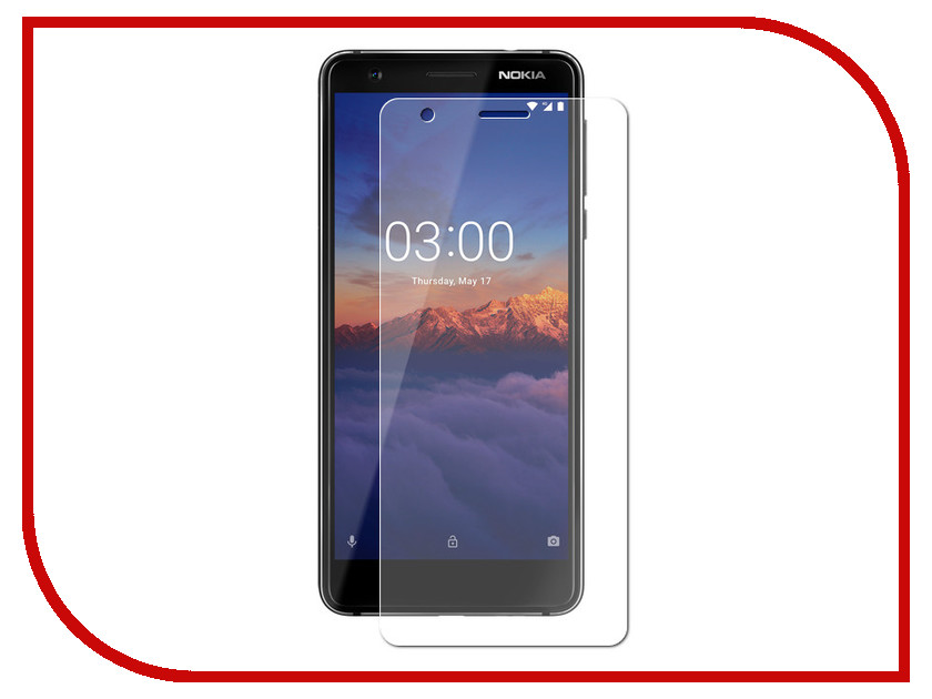 Аксессуар Защитное стекло для Nokia 3.1 2018 DF Full Screen Black nkColor-10 защитное стекло для экрана df nkcolor 16 для nokia 5 1 1 шт черный [df nkcolor 16 black ]