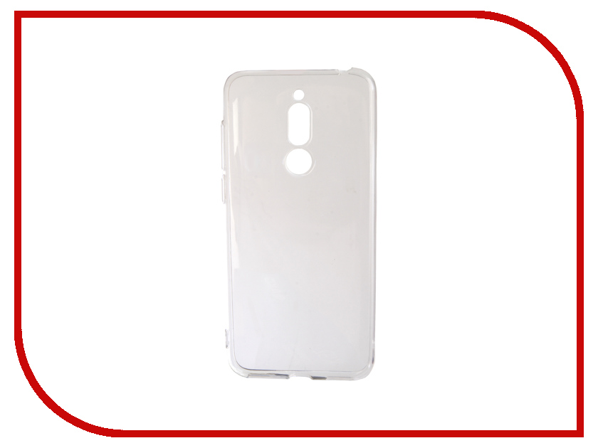 Аксессуар Чехол для Meizu M6T DF Silicone Super Slim Transparent mzCase-24