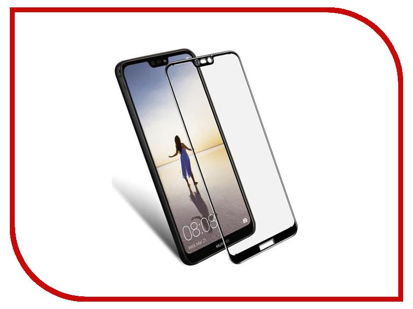 Аксессуар Защитное стекло для Huawei Nova 3 DF Full Screen Black hwColor-68 от DF-GROUP