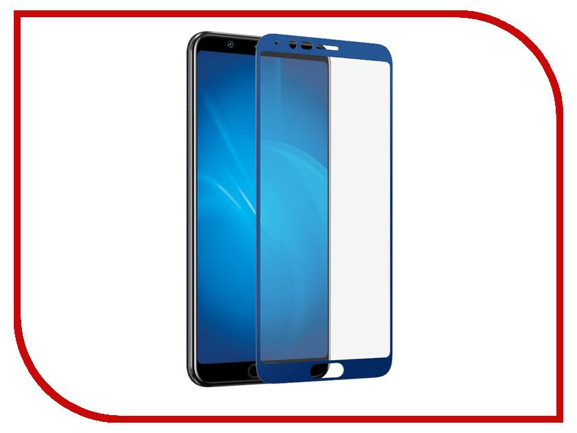 Аксессуар Защитное стекло для Huawei Honor View 10 DF Full Screen 3D Blue hwColor-45 аксессуар защитное стекло для huawei honor y9 2018 luxcase 3d full screen black frame 77921