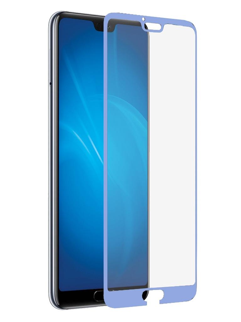 Аксессуар Защитное стекло DF для Honor 10 / Premium Full Screen 3D Blue hwColor-59