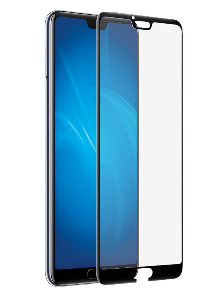 Аксессуар Защитное стекло DF для Honor 10 / 10 Premium Full Screen 3D Black hwColor-59
