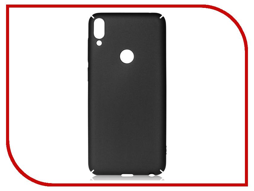 Аксессуар Чехол для ASUS ZenFone Max Pro M1 ZB602KL DF Soft-Touch Black aSlim-20 сотовый телефон asus zenfone max m1 zb555kl 16gb