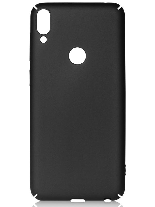 Аксессуар Чехол DF для ASUS ZenFone Max Pro M1 ZB602KL Soft-Touch Black aSlim-20