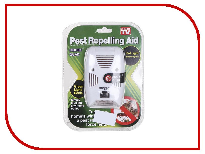 Средство защиты СмеХторг Pest Reject ultrasonic pest mosquito rat repeller white us plug