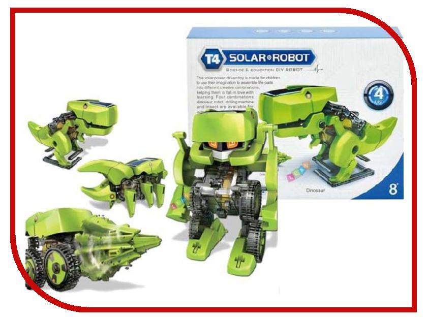 Конструктор Cute Sunlight 4 in 1 CS 2125 cute sunlight 2125 t4 4 in 1 solar dinosaur robot diy kit
