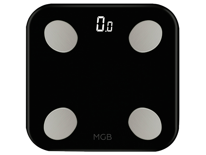 Весы напольные MGB Body fat scale Glass Edition Black F19 BB