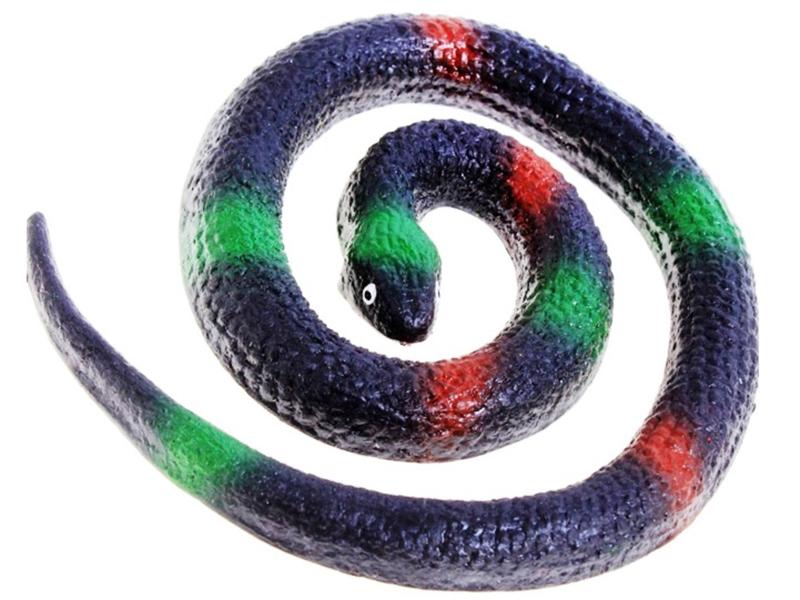 Игрушка СмеХторг Змея резиновая Средняя В ассортименте