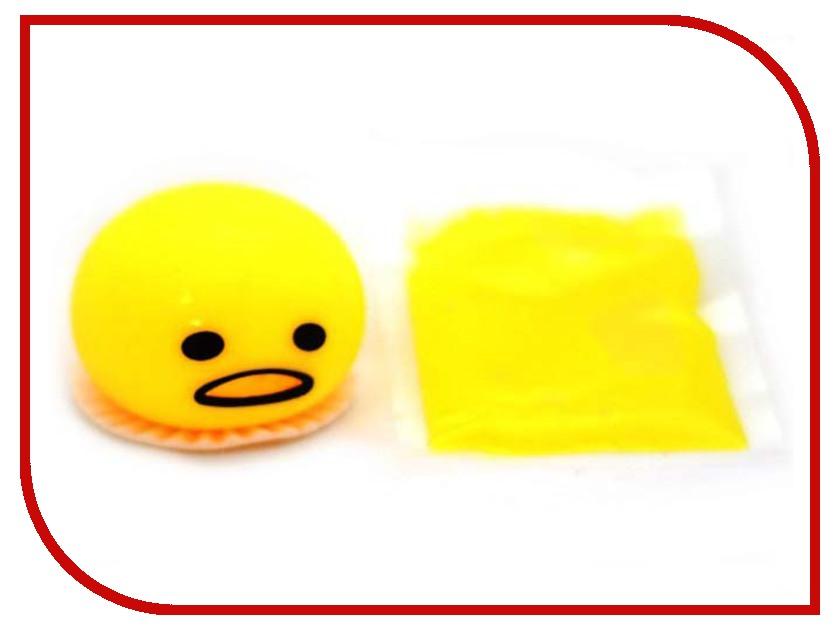 Игрушка антистресс СмеХторг Смайлик ест лизун игрушка антистресс смехторг лизун мяч в сетке