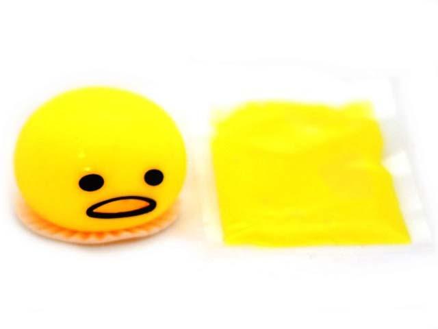 Игрушка антистресс СмеХторг Смайлик ест лизун