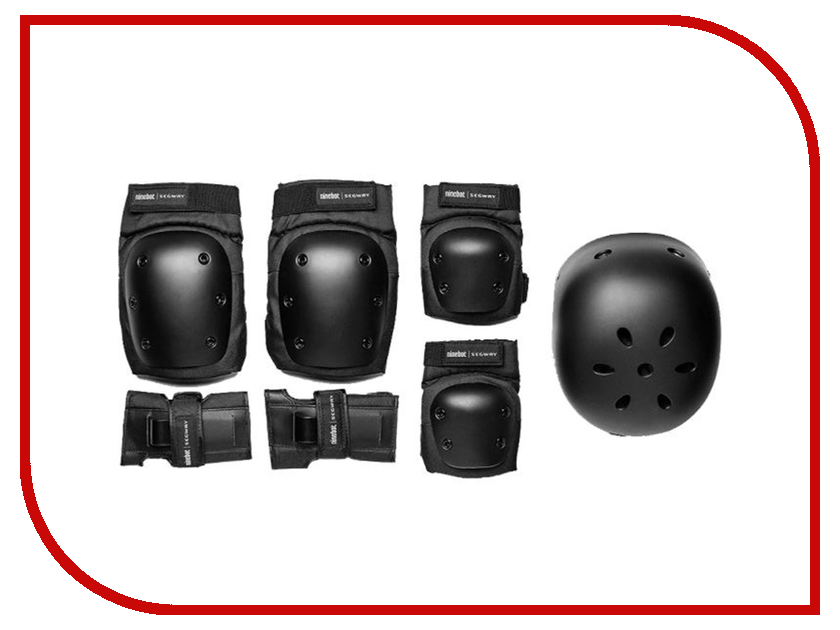 Комплект защиты Ninebot Protective Gear Set HJTZ01 Размер S taekwondo protective gear set wtf hand chest protector foot shin arm groin guard helmet 8pcs children adult taekwondo karate set