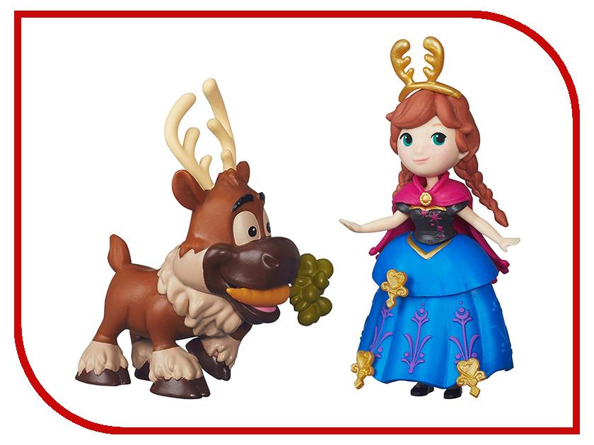 Игрушка Hasbro Disney Princess Холодное сердце Игровой набор маленькая кукла с другом B5185 hasbro disney princess b5327 маленькая кукла и модные аксессуары в ассортименте
