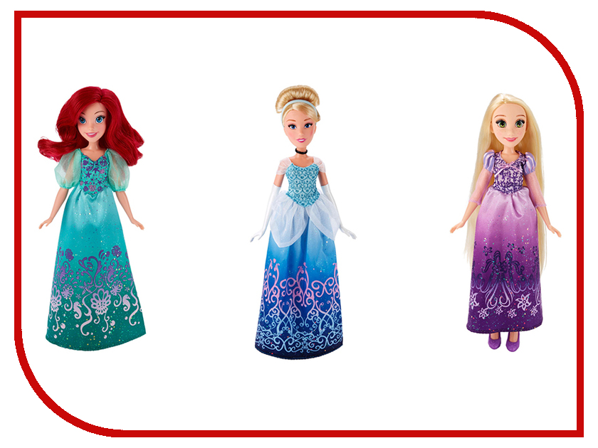 Игрушка Hasbro Disney Princess Кукла B5284 disney princess train case