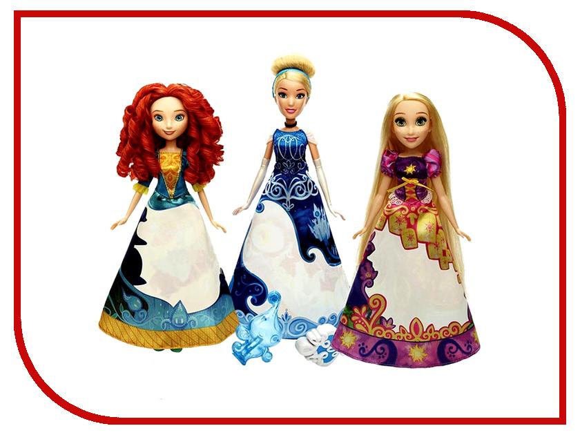 Игрушка Hasbro Disney Princess Принцесса в юбке с проявляющимся принтом B5295 disney princess кукла золушка в юбке с проявляющимся принтом