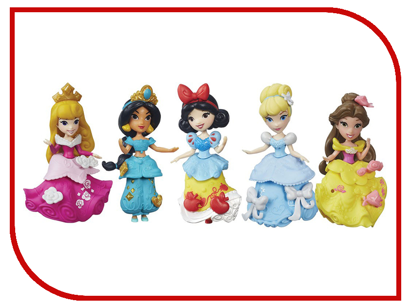 Игрушка Hasbro Disney Princess Фигурка B5321 disney princess train case