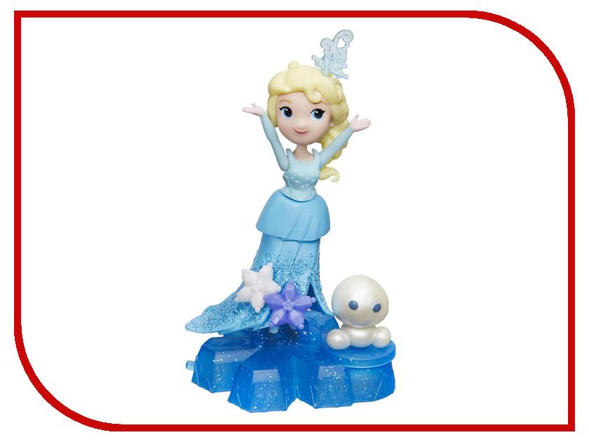 Игрушка Hasbro Disney Princess Холодное сердце Маленькая кукла на движущейся платформе-снежинке B9249 hasbro disney princess b5327 маленькая кукла и модные аксессуары в ассортименте