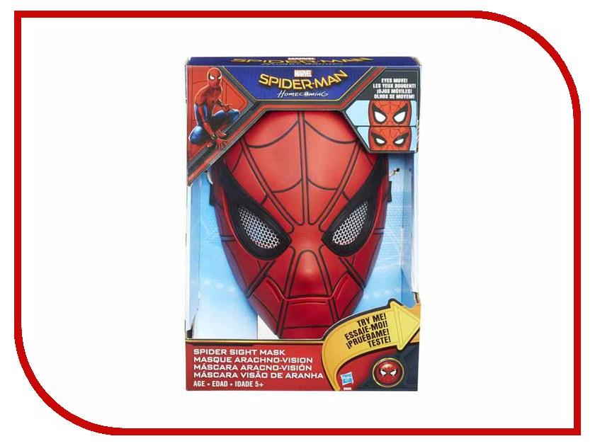 Игрушка Hasbro Spider-Man Интерактивная маска Человека-паука B9695 hasbro игровой набор spider man перчатка человека паука со звуком