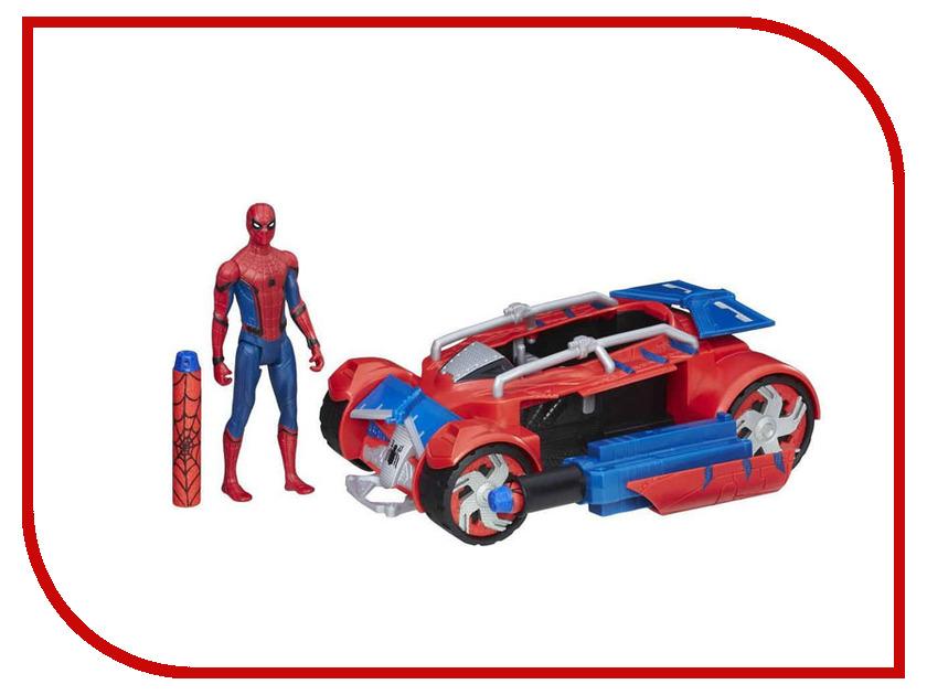 Игрушка Hasbro Spider-Man Транспортное средство Паутинный город B9703 фигурка spider man паутинный город 15 см в ассортименте