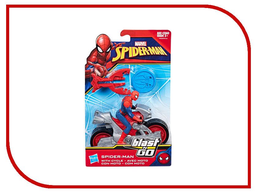 Игрушка Hasbro Spider-Man ФигуркиЧеловек-Паук и Стартер B9705 фигурки игрушки schleich человек паук
