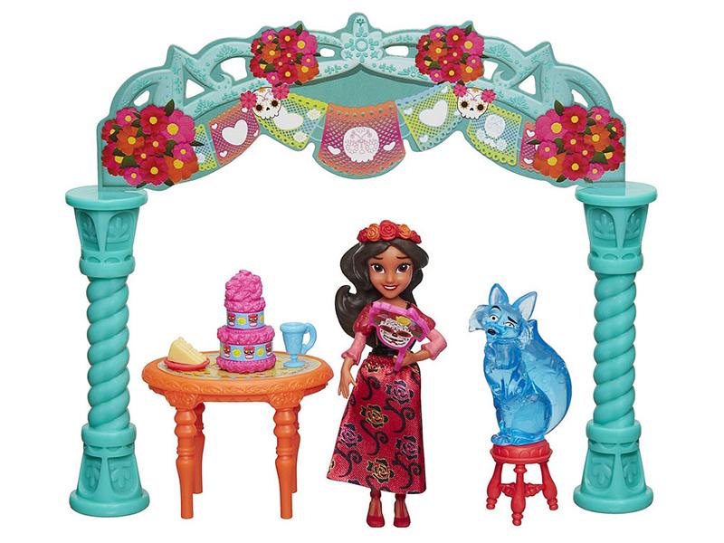 цены на Игрушка Hasbro Disney Princess Елена принцесса Авалора Набор для маленьких кукол C0383  в интернет-магазинах