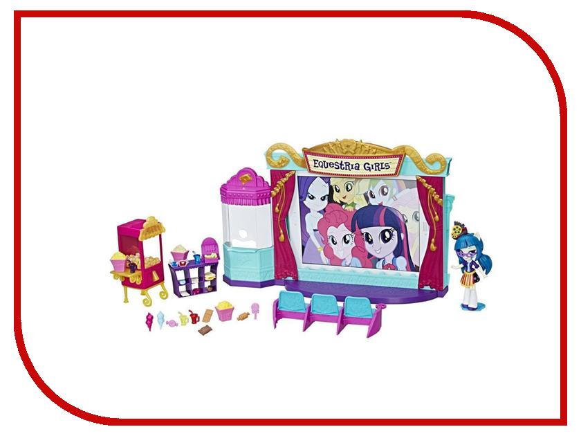 Игрушка Hasbro My Little Pony Equestria Girls Игровой набор Кинотеатр C0409 игровой набор кинотеатр equestria girls